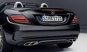 mercedes launches amg slc 43 in india prices start at rs