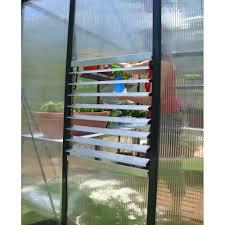 Palram Polycarbonate Greenhouse Palram Palram Glory 8x8 Polycarbonate Greenhouse Palram From
