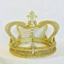crown cake toppers gold glitter crown cake topper wedding cake top princess party