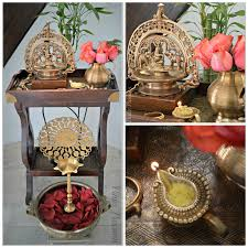Diwali Decorations In Home Pinkz Passion Blessings Of Pooja Silver Puja Items