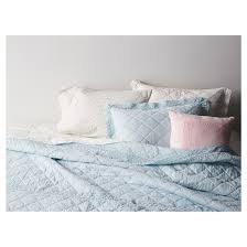 crochet trim linen blend bedding collection simply shabby chic