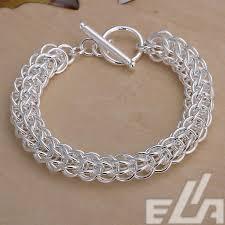 silver bracelet designs images Latest classy design 925 silver bracelets bangles for men jpg