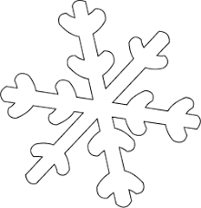 snowflake patterns to cut out transfer the snowflake pattern to