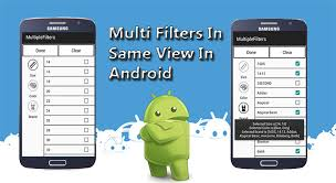 filters for android easy way to implement filters in android mobile app