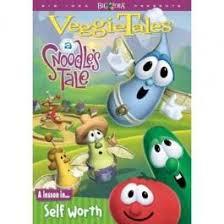 veggietales a snoodles tale dvd christian fishflix