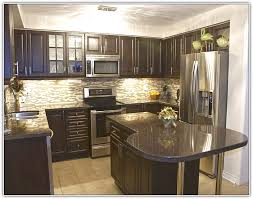 Black Countertop Kitchen by Grey Kitchen Cabinets Black Countertop Home Design Ideas
