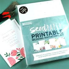 plantable wedding invitations idea printing paper for wedding invitations for seed paper