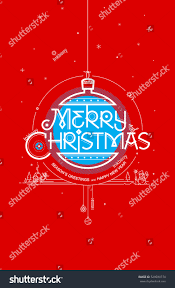 merry seasons greetings happy new stock vector 529030774