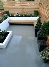 patio garden used park pinewood modern patio bench modern garden
