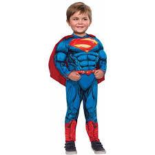 Boys Halloween Costumes Walmart Superman Toddler Halloween Costume Walmart