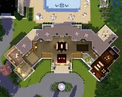 Mansion Blue Prints by Sims 3 House Plans Mansion Blueprints