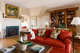 Red Sofas In Living Room How To Furnish A Living Room With A Red Sofa 16 Stylish Ideas