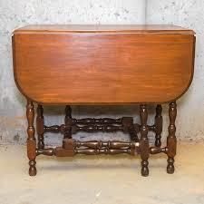 antique drop leaf gate leg table vintage drop leaf gate leg table ebth
