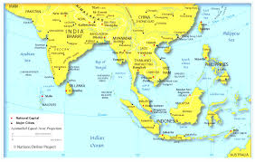 Middle East Physical Map Quiz by Download Southeast Asia And South Pacific Map Quiz At Southeast