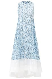 Tory Burch Plus Size Clothing Blue Blaire Dress By Tory Burch For 55 75 Rent The Runway