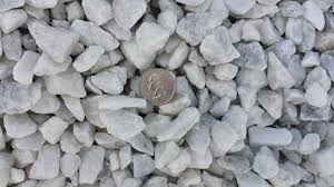 White Marble Rocks For Landscaping by 3 4 U2033 White Marble Erickson U0027s Landscape Supply