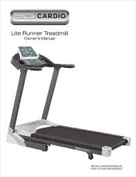 3g cardio product manuals view and download