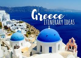 greece itinerary ideas 10 day greece vacation on a budget