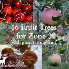 Usa Garden Zones - 16 fruit trees for zone 3 with great tasting fruit 5 years