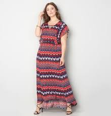 chevron maxi dress womens plus size chevron maxi dresses from avenue
