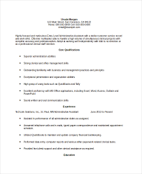 Resume Samples For Administrative Assistant by 10 Administrative Assistant Resumes Free Sample Example