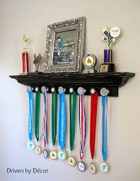 trophy and medal awards display ideas bling glass knobs and room