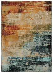 Rust Area Rug Sedona Blue Rust Area Rug Southern Creek Rustic Furnishings