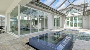 isles of collier preserve luxury courtyard pool home naples