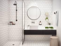 bathroom tiles black and white ideas home design ideas