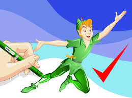 how to draw peter pan 7 steps with pictures wikihow