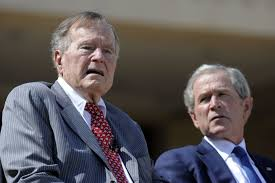 george h w bush date of birth first a portrait now a book george w bush takes 41 as his