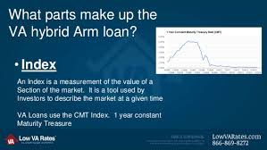 va arm loan the va hybrid loan and the cmt index