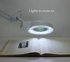 Magnifying Clamp On Desk Lamp Desk Led Desk Clamp Mount Magnifier Lamp Light Magnifying Glass