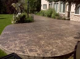 cement patio diego decorative concrete patio small backyard
