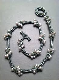 black beaded rope necklace images 367 best beaded rope necklaces images bead jewelry jpg