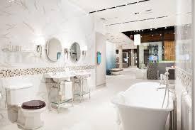 bathroom display at pirch atlanta which includes rohl bathroom