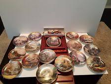 kinkade collector plates ebay