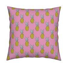 summer pineapple pink tropical summer wallpaper by