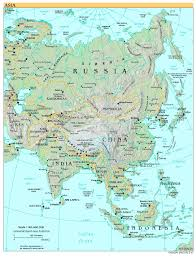 Picture Of A World Map by Free High Resolution Map Of Asia