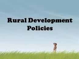 rural development policies india authorstream