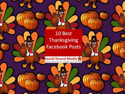 study 10 best thanksgiving page posts 2013