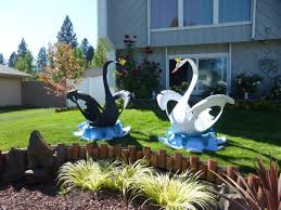 beautiful garden decoration ideas with old tires 16 great swan