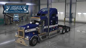 kenworth t900 uncle d logistics 2016 kenworth w900 skin v1 0 american truck