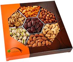 gourmet food nuts gift basket 7 different