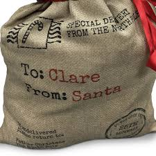 santa sacks personalised christmas santa sack santa sack gifts bootsphoto