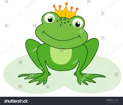 frog with crown clipart clipartxtras
