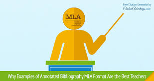 MLA Annotated Bibliography Example FAMU Online