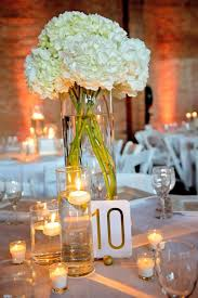 Wedding Centerpieces For Round Tables by 25 Best Hydrangea Wedding Centerpieces Ideas On Pinterest