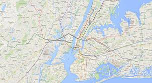 New York City Area Map by Nyc Transit Map Andrew U0027s Website