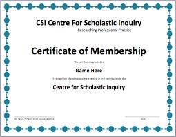 membership certificate template microsoft word templates